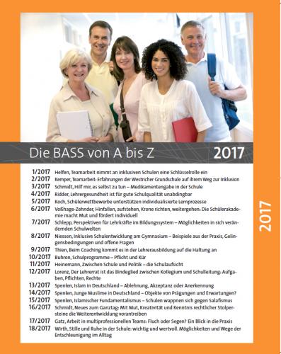Die BASS von A bis Z: Archiv 2017