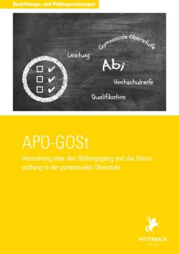 Bildungsgang/Abiturprüfung gymnasiale Oberstufe (APO-GOSt)
