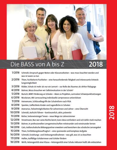 Die BASS von A bis Z: Archiv 2018