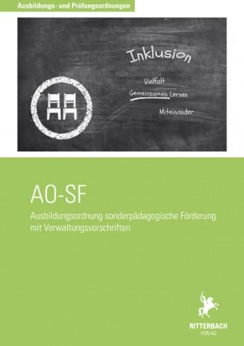 Ausbildungsordnung sonderpädagogische Förderung (AO-SF)