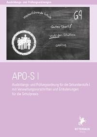 Ausbildungs- und Prüfungsordnung Sek I (APO-SI)