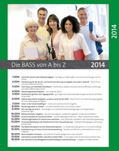 Die BASS von A bis Z: Archiv 2014