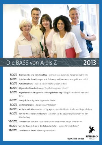 Die BASS von A bis Z: Archiv 2013