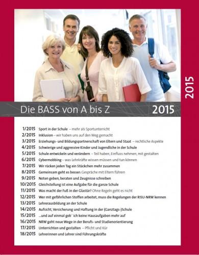 Die BASS von A bis Z: Archiv 2015