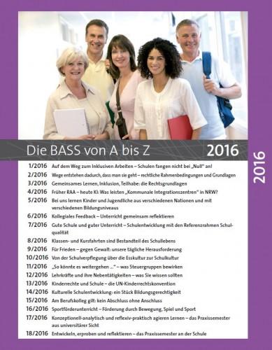 Die BASS von A bis Z: Archiv 2016