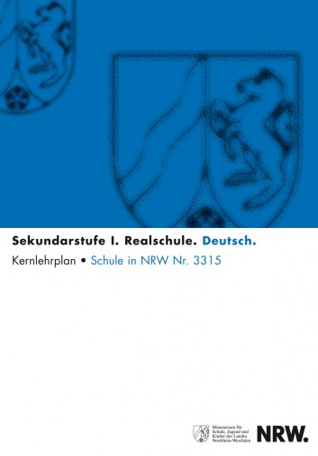 Deutsch - Kernlehrplan, Realschule