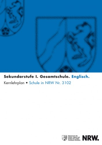 Englisch - Kernlehrplan, Gesamtschule, Sek I
