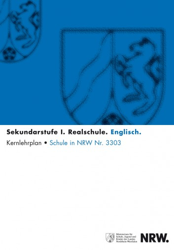 Englisch - Kernlehrplan, Realschule
