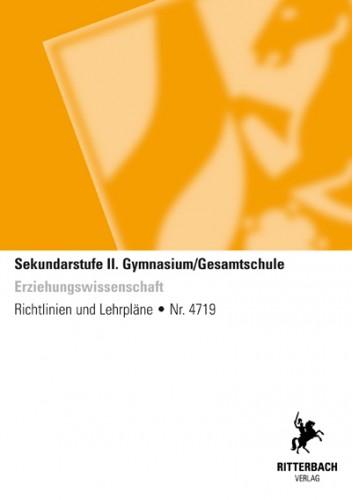 Erziehungswissenschaften - Kernlehrplan, Gym/GeS, Sek II