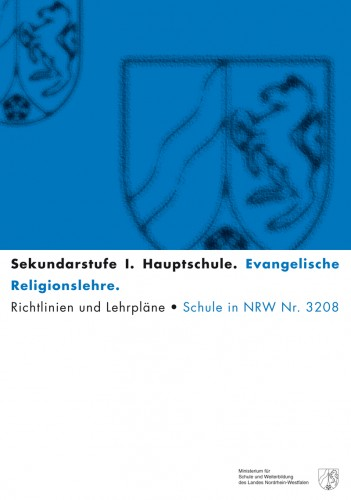 Ev. Religionslehre - Kernlehrplan, Hauptschule