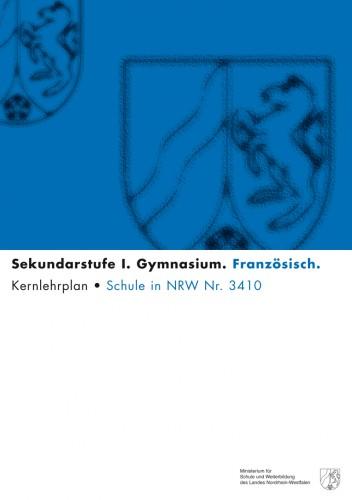 Französisch - Kernlehrplan, Gymnasium, G8, Sek I