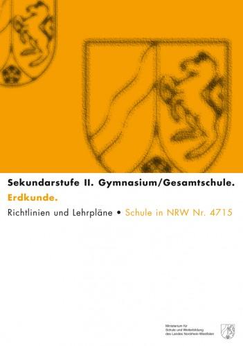Geographie - Kernlehrplan, Gymnasium/Gesamtschule, Sek II