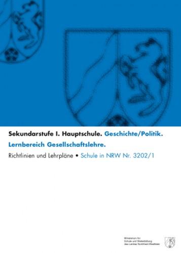 Geschichte/Politik - Richtlinien/Lehrpläne, Hauptschule