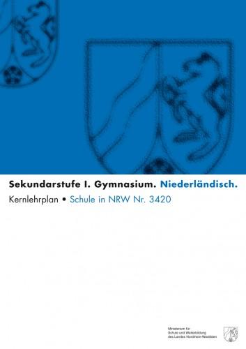 Niederländisch - Kernlehrplan, Gymnasium, G8, Sek I
