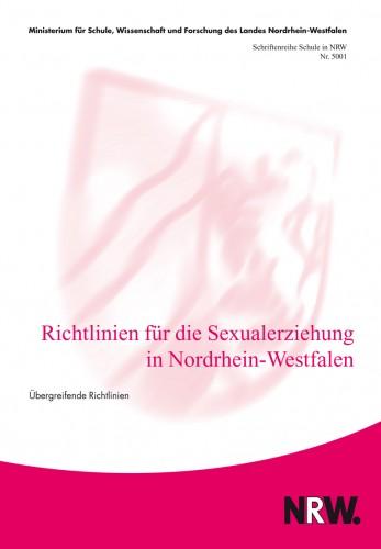 Richtlinien für die Sexualerziehung in NRW
