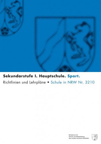 Sport - Kernlehrplan, Hauptschule