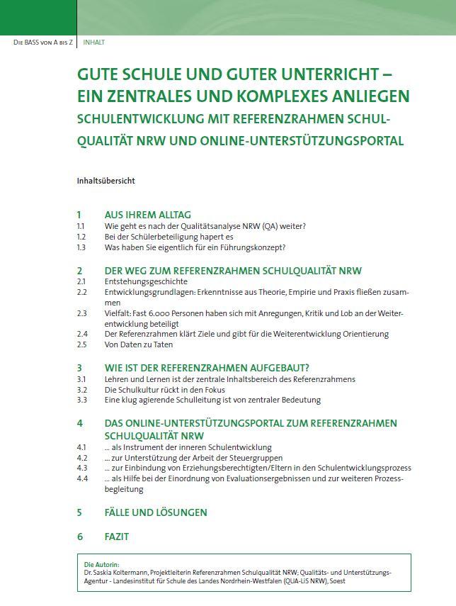 Referenzrahmen Schulqualität-az3/16/7