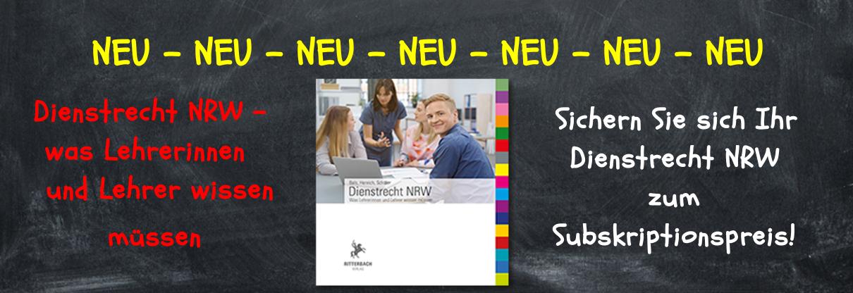 NEU: Dienstrecht NRW