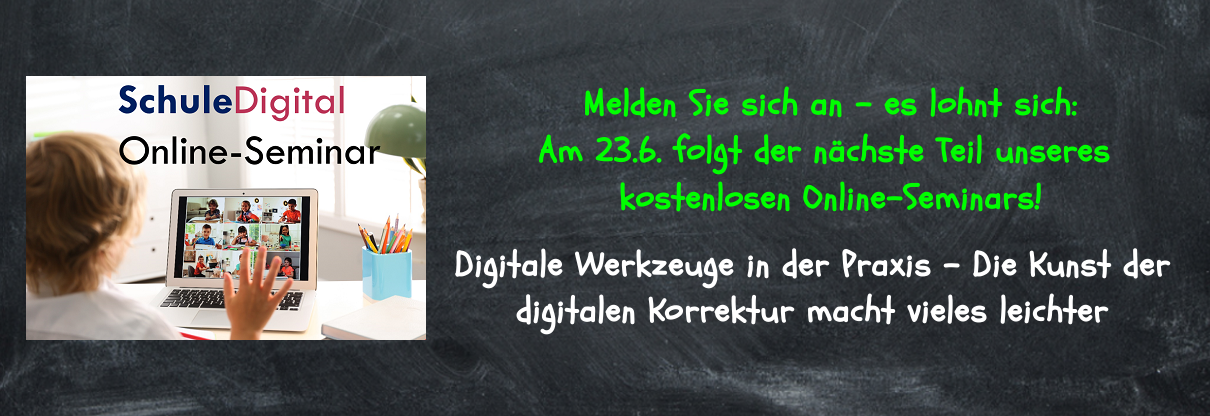 Online-Seminar Digitale Korrektur