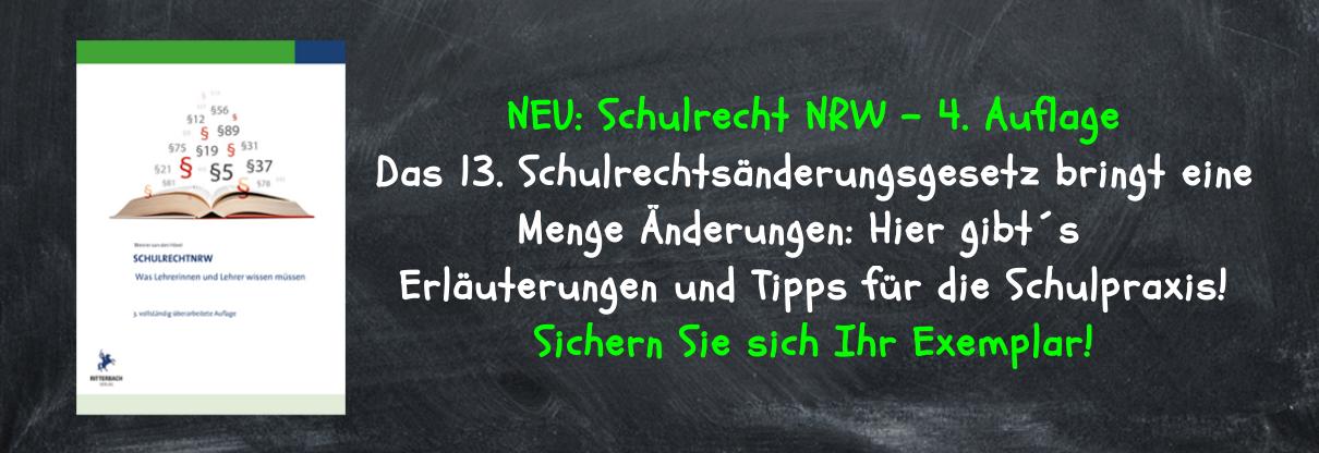 Schulrecht NRW: 4. Auflage