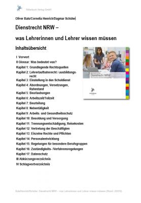 Dienstrecht NRW: Bis 1.3.2019 Subskriptionspreis nutzen!