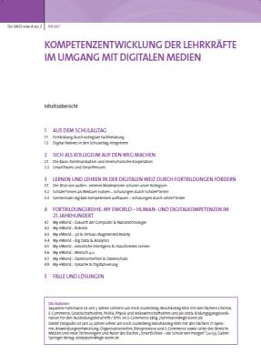 Digitale Medien: Kompetenzentwicklung der Lehrkräfte