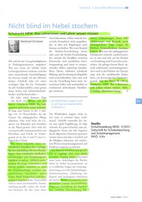 Schulrecht NRW - was Lehrkräfte wissen müssen (5. Aufl.), 2020